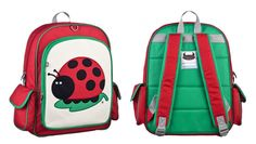 Beatrix NY juju lady beetle big kid backpack (5-10 yrs)