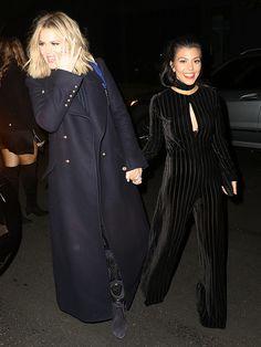 Khloe Kardashian Kourtney Kardashian Ouai Haircare Launch
