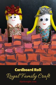 8 Kids Craft Projects From Recycled Materials - diy Thought Cardboard Box Castle, Cardboard Rolls, Craft Projects For Kids, Fun Crafts For Kids, Diy For Kids, Milk Jug Projects, Happy Flowers, Family Crafts, Craft Box