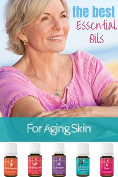 How to Know Which Essential Oils to Use for Aging Skin? There are SO MANY essential oils available today. This is both amazing and overwhelming. So which oils are the best for aging skin? Here we go... My Top 5 Anti-Aging Essential Oils...