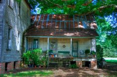 images of old farmhouses porches   Back porch of old home in Keachi, LA   Flickr - Photo Sharing!