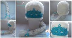 Gorro Princesa Elsa  Frozen