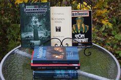 Ullan Luetut kirjat Top Ten, Like Me, Tuesday, Halloween, Books, Tights, Libros, Book, Halloween Labels