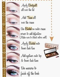 beautiful Naked Palette 2 look