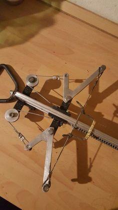 Spring powered crossbow#DIY Armmbust mit Feder bye MoGue