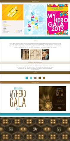 Strategy and branding for a golden event