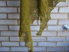 Lankaterapiaa: Ei kahta ilman kolmatta - Titanium shawl