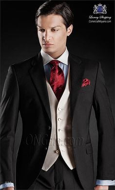 Traje de novio negro 920 ONGala Wedding suit