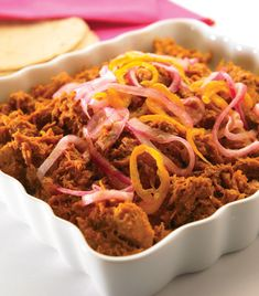 """<span itemprop=""""name"""">Cochinita pibil</span> Pork Recipes, My Recipes, Chicken Recipes, Cooking Recipes, Favorite Recipes, Pibil Recipe, Everyday Food, Superfoods, Food And Drink"""