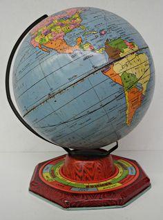 untitled , Globe Maker: J. Chein & Co.;  (Published:  c1938. [Burlington, NJ])