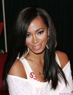 sew in styles with straight hair - Google Search