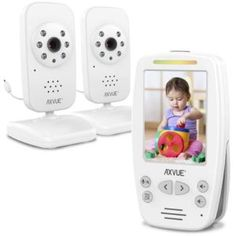 Video Baby Monitor with Two Cameras and Comfort-Designed Screen by Axvue, Model Video Baby Shark, Baby Shark Music, Baby Music, Lil Baby, Mom And Baby, Baby Shark Doo Doo, Comfort Design, Boss Baby, Baby Alive