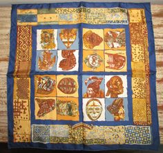A personal favorite from my Etsy shop https://www.etsy.com/listing/243068579/hermes-silk-twill-scarf-persona-african
