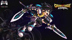 Grand Chase - Sieghart Comandante ========================= Espada e lança sempre achei uma combinação estranha pra armas e esta classe eu nunca jogava. ========================= https://youtu.be/cQkpS5rpdLA ========================= #louzzone #grandchase #sieghart
