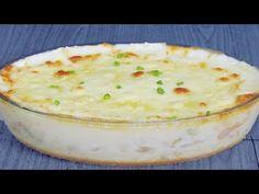 Escondidinho de Bacalhau - Faça pro Almoço - YouTube Carne, Mashed Potatoes, Macaroni And Cheese, Pudding, Ethnic Recipes, Desserts, Food, Youtube, Cod Fish Recipes