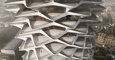 'ZHA Unbuilt' exhibition at Zaha Hadid Design Gallery until 18 August 2017 Zaha Hadid Architecture, London Architecture, Futuristic Architecture, Architecture Student, Amazing Architecture, Architecture Design, Green Architecture, Future Buildings, Modern Buildings