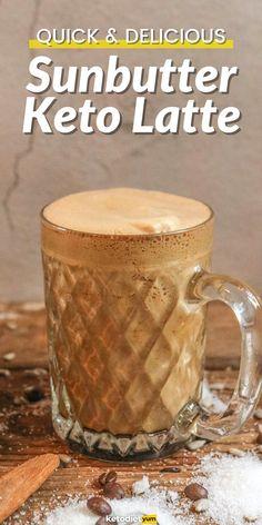 SunButter Keto Latte (Fat-Burning Energy Boost!)