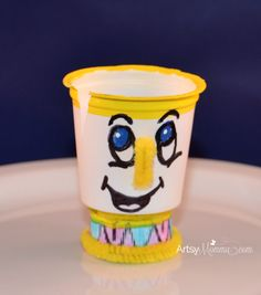 Beauty and the Beast Craft - make Chip from a K-cup