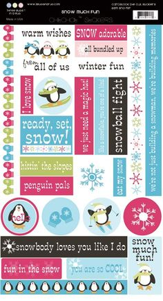 Scrapbooking for Less - 3 Bugs In A Rug Cardstock Stickers - Snow Much Fun, $0.50 (http://www.scrapbooking-for-less.com/3-bugs-in-a-rug-cardstock-stickers-snow-much-fun/)