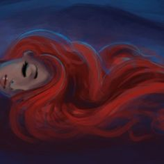 Tangled in flames... Is this what its like to wake up next to a redhead?