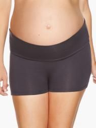 Boy-Short Maternity Panty with Foldover Panel | Shop Online at Thyme Maternity