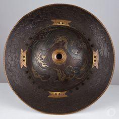 Iron jingasa, mid Edo period, XVIII cent.