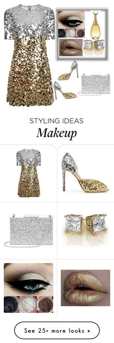 """""""Untitled #72"""" by tanyairving on Polyvore featuring Dolce&Gabbana, Aspinal of London and Christian Dior"""