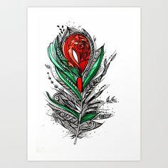 Flower Lover Art Print by Himadri Pachori - $20.56