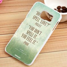 Winnie The Pooh Quotes Custom Samsung Galaxy S3, S4, S5, S6, S6 Edge and S7 Case - gogolfnw