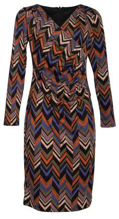 YUMI CURVES Sommerkleid Tuchmuster Tunikakleid PLUS SIZE Abendkleid AS122P blau