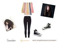 """30 day song challenge - day 06"" by strawberrymint-mary on Polyvore featuring Mode, River Island, Chloé und Converse"