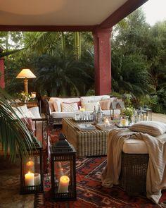 Fantastic outdoor room.