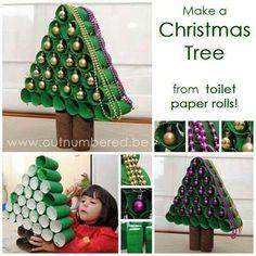 Wc rollen Kerstboom