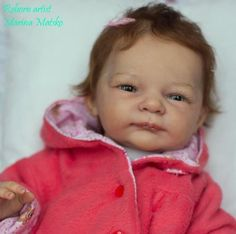 Realistic  reborn-doll baby Selina