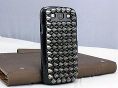 studded samsung s3 case studded iphone 4 4s iphone 5 by dnnayding, $32.99