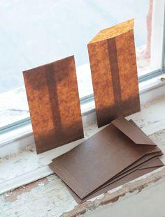 Kraft Glassine Envelopes  7 x 3 3/4   Set of 6. $5.00, via Etsy.