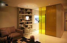 30 modelos y diseños de acomodamiento en apartamentos pequeños (27)