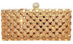 Dazzling 2 Crystal Pave Hard Case Evening Clutch Handbag with Detachable Chain, Gold CB Accessories http://www.amazon.com/dp/B00P7BRIL6/ref=cm_sw_r_pi_dp_IFkIub1YYKTH6
