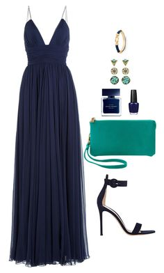 """""""Untitled #483"""" by hayleyl22 ❤ liked on Polyvore featuring Jenny Packham, Humble Chic, OPI, Narciso Rodriguez, Charter Club and Gianvito Rossi"""