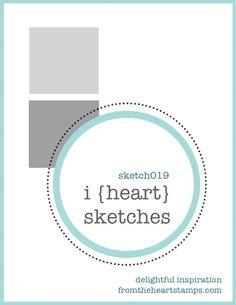 Card Sketch Challenge Pattern no. 19