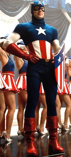The Evolution of Captain America's Uniform  - USO Uniform — GeekTyrant