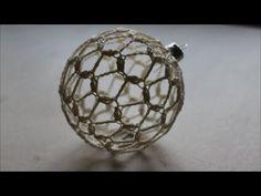 Xmas Ornaments, Christmas Bulbs, Holiday Decor, Youtube, Crocheted Lace, Xmas, Balls, Tricot, Noel