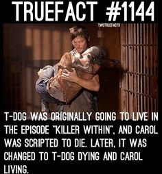 Would T-Dog blow up Terminus if he was still alive and Carol was dead?