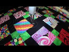 L&R Designs Quilting - Lollipop Swirls (AKA Monkey Tails)