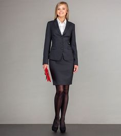 Business fashion, business attire, office fashion, work fashion, business s Dresscode Business, Business Outfits Women, Business Attire, Business Fashion, Pantyhose Outfits, Nylons, Office Fashion, Work Fashion, Bon Look