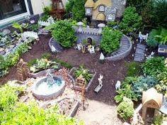 Image result for fairy garden