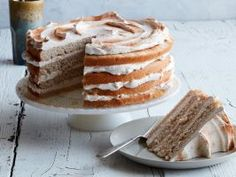 Snickerdoodle Cake : This nostalgic cake tastes just like the classic cookie, thanks to its light, fluffy texture and plenty of cinnamon.