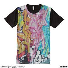 Graffiti All-Over Print T-shirt