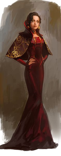 I like this idea for Sordin robes.. Only purple and black instead of gold and red... (delete description)