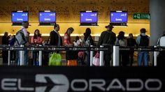 Movilización de pasajeros por vía aérea en Colombia aumenta 3,7%